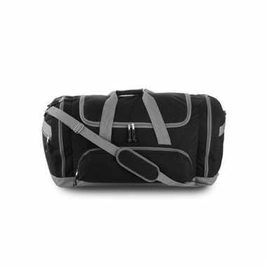 Reistas zwart/grijs 69 cm
