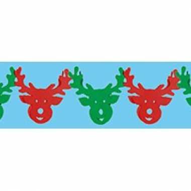 Rendier kerst slingers 3 meter