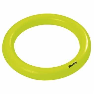 Ringen om op te duiken neon groen