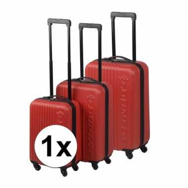 Rode bagage rolkoffer 59 cm