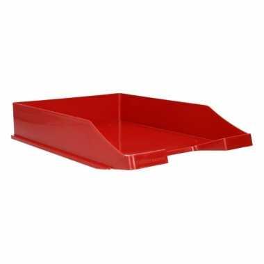 Rode documentenbak a4