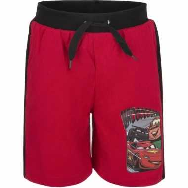 Rode korte broek cars
