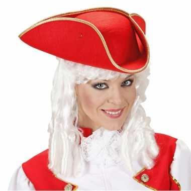 Rode lakei hoed