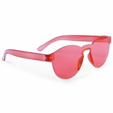 Rode partybril voor volwassenen