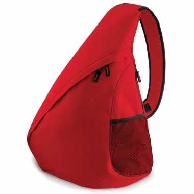 Rode reistassen monostrap 48 cm