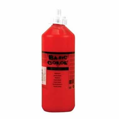 Rode schoolverf in tube 500 ml