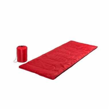 Rode slaapzak 185 cm