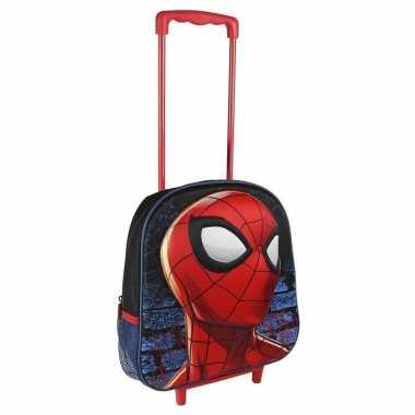 Rode spiderman reistas trolley voor kids