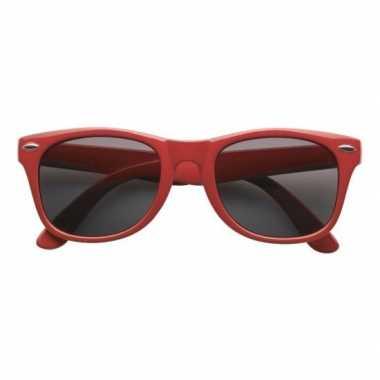 Rode toppers verkleedaccessoire bril voor volwassenen