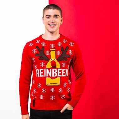 Rode trui voor kerst reinbeer