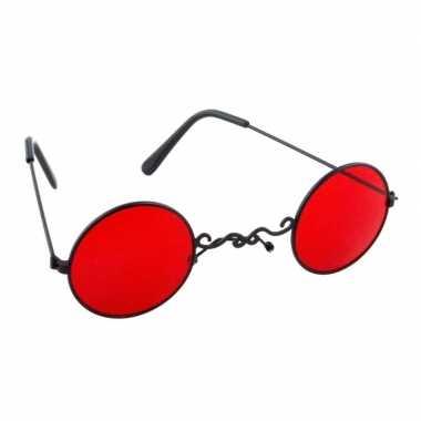 Rode vampier feestbril voor volwassenen