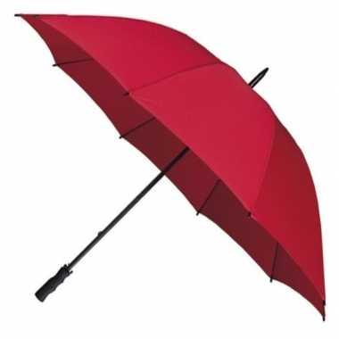 Rode windproof paraplu 130 cm