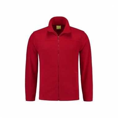 Rood fleecevest voor volwassenen