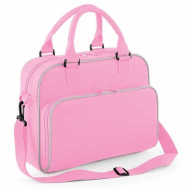 Roze meisjes logeertas