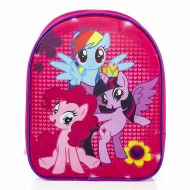 Roze my little pony rugzakken