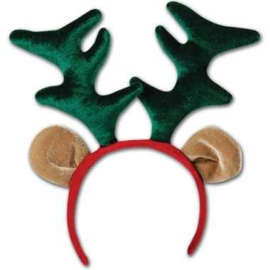 Rudolf diadeem met oren en gewei