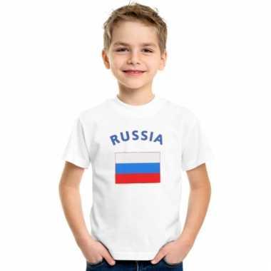 Russisch vlaggen t-shirts voor kinderen