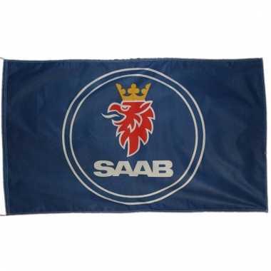 Saab merchandise vlaggen 150 x 90 cm