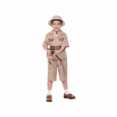 Safari carnavalskostuum voor kids