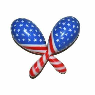 Sambaballen amerikaanse vlag