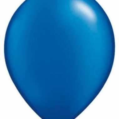 Sapphire blauw ballonnen qualatex