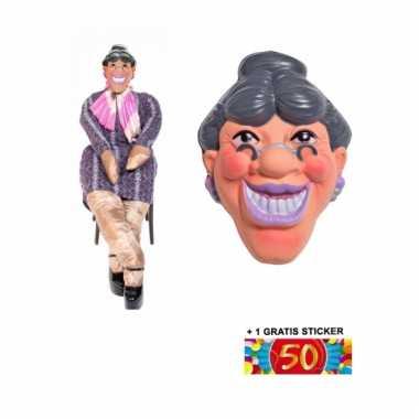Sarah masker en pop