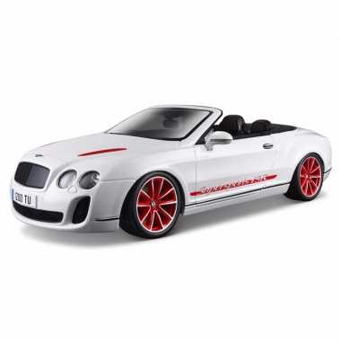 Schaalmodel bentley continental cabrio