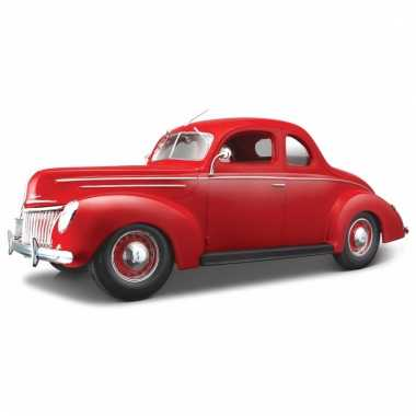 Schaalmodel ford oldtimer 1939 coupe 1:18