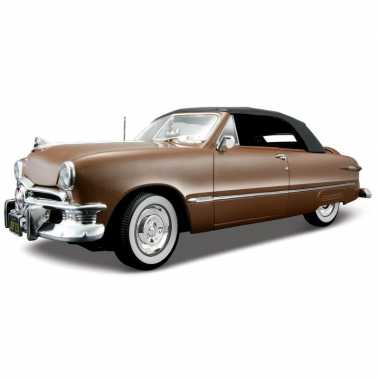 Schaalmodel ford oldtimer 1950 cabriolet 1:18