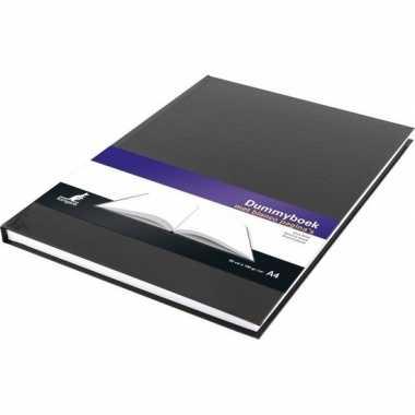 Schetsboeken zwart met harde kaft a4 formaat 80 vellen