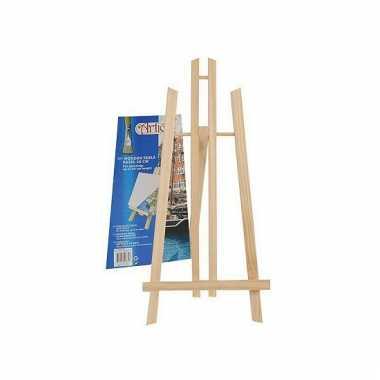 Schildersezels van hout 50 cm