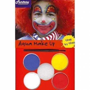 Schmink set clowns