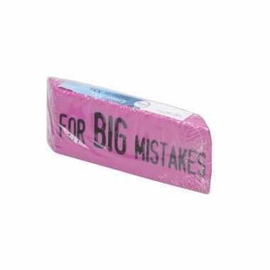 School spullen xxl gum roze