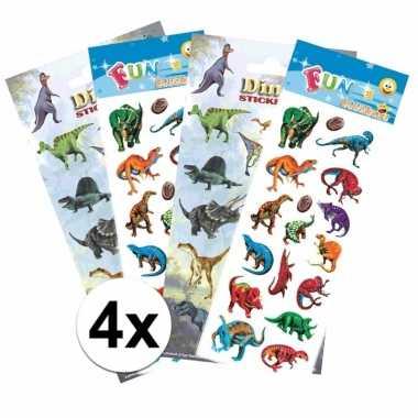 School stickers pakket dinosaurus