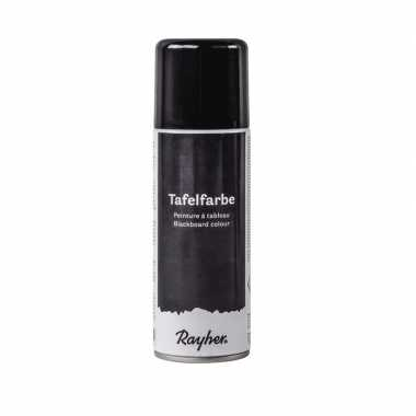 Schoolbord spray zwart 200 ml