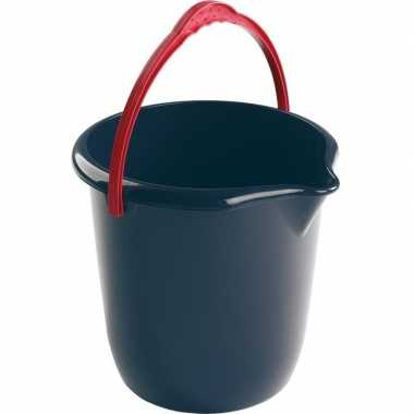 Schoonmaak emmer blauw 10 liter