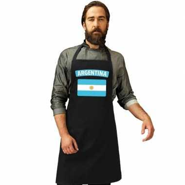Schort argentijns restaurant vlag argentinie