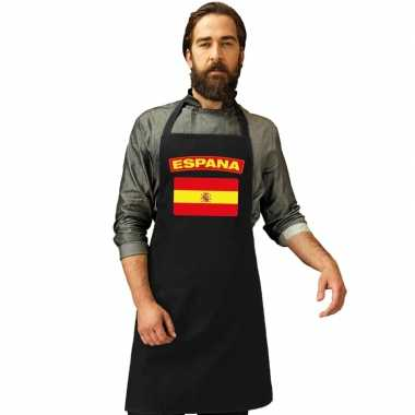 Schort spaans tapas restaurant vlag spanje