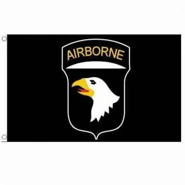 Screaming eagles vlag 101st airborne division vlag 150 x 90 cm