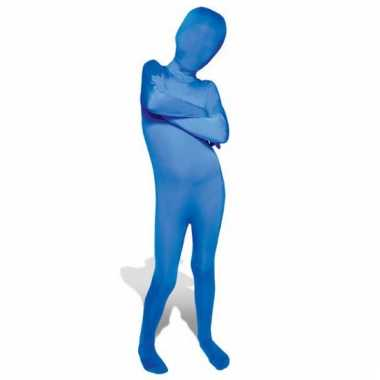 Secon skin kinder kostuum blauw