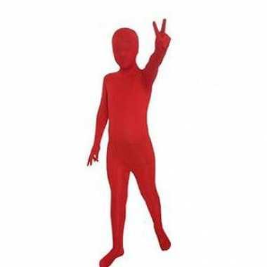 Secon skin kinder kostuum rood