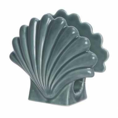 Servet houder maritiem zeeschelp 12 x 13 cm
