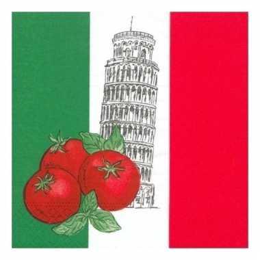 Servetten italie 50 stuks