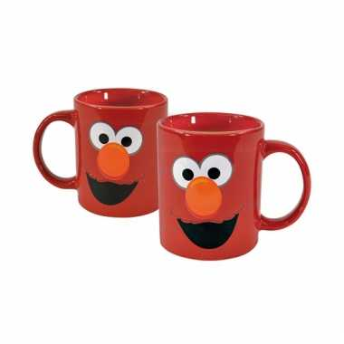 Sesamstraat elmo drinkbeker