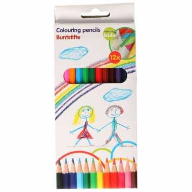 Set van 12 kleurpotloden topwrite kids