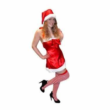 Sexy kerstkleding rood jurkje