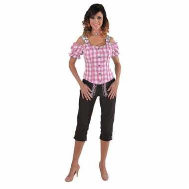 Sexy rozee blouse met blote schouders