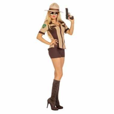 Sexy sheriff verkleedoutfit dames