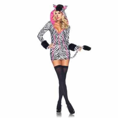 Sexy zebra jurkje voor dames