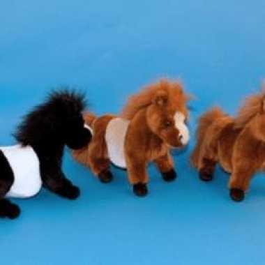 Shetlander pony bruin 36 cm